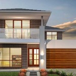 Ghan Homes double storey modern home